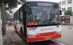 淮北17路公交车路线