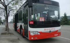 淮北19路东环线公交车路线