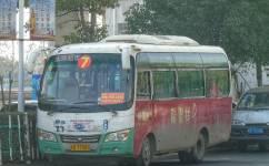 淮南凤台7路(拐弯)公交车路线