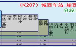 江门K207路公交车路线