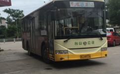 江门804路公交车路线