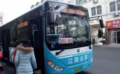 江阴22路公交车路线