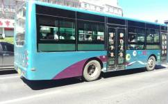 鸡西2线公交车路线