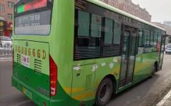鸡西66线公交车路线