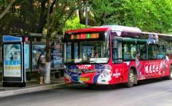 昆明旅游观光巴士1号线公交车路线