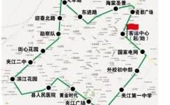 乐山夹江4路公交车路线