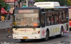 洛阳20/K20路公交车路线