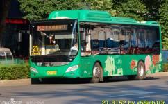 洛阳K21路公交车路线