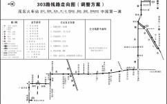 茂名303路公交车路线