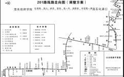 茂名201路公交车路线