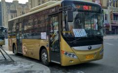 牡丹江公交空调快线(定制专线1路)公交车路线