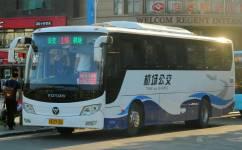 南昌机场公交1线公交车路线