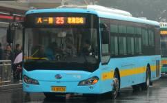 南昌25路公交车路线