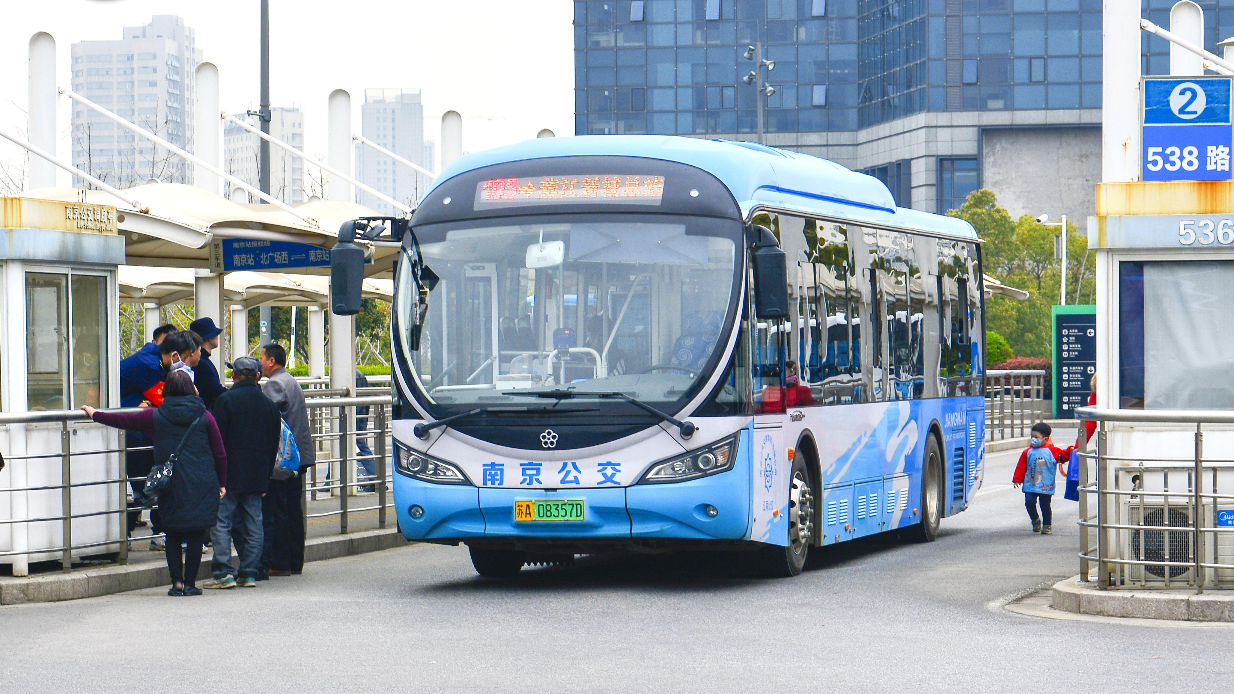 南京105路公交车路线