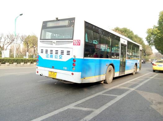 南京107路公交车路线
