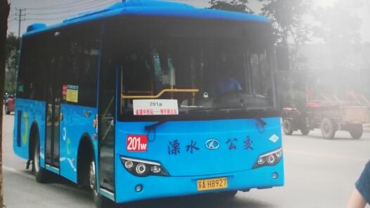 南京溧水201路公交车路线
