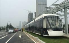 南京河西有轨电车1号线公交车路线