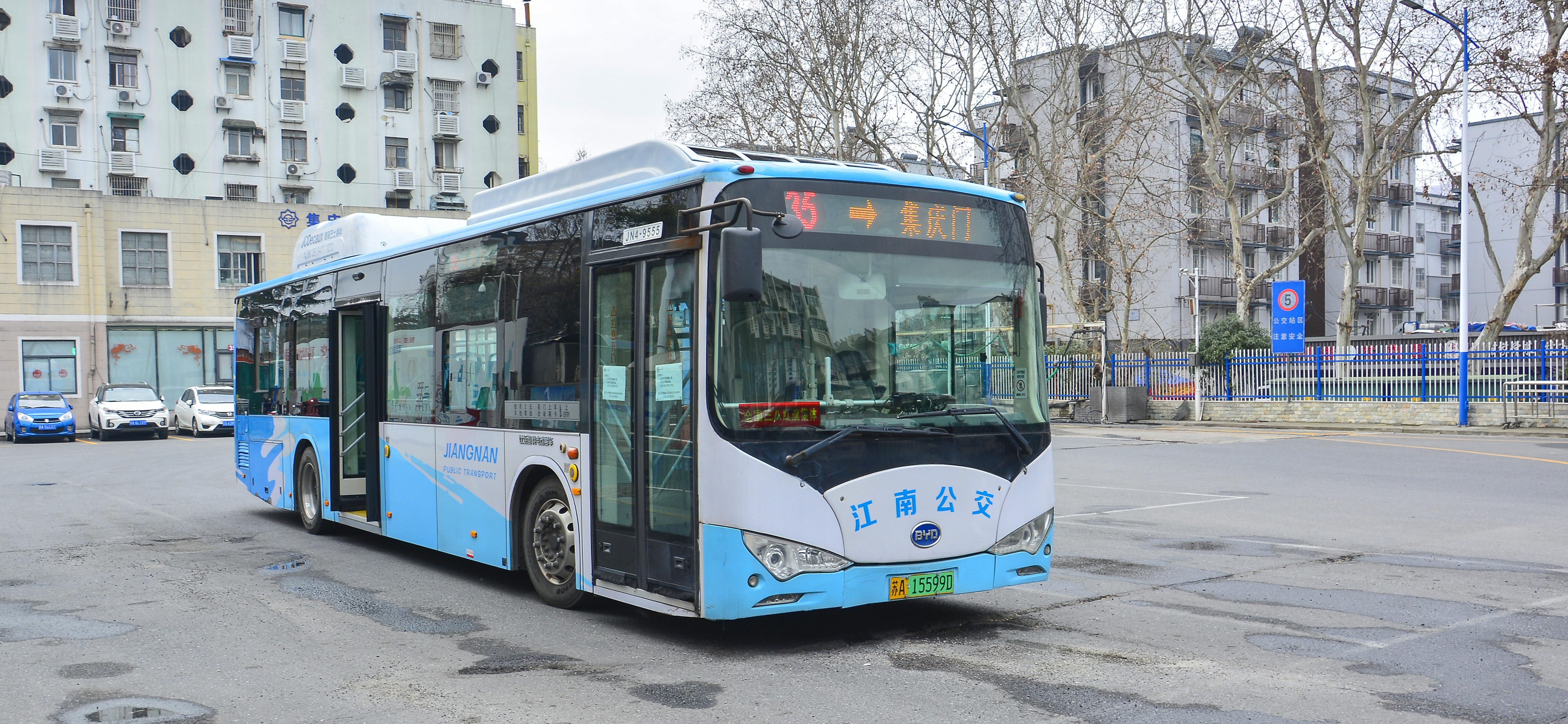 南京35路公交车路线