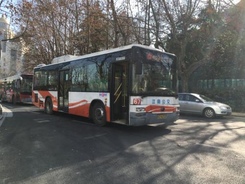南京67路公交车路线