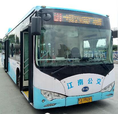 南京B1路公交车路线