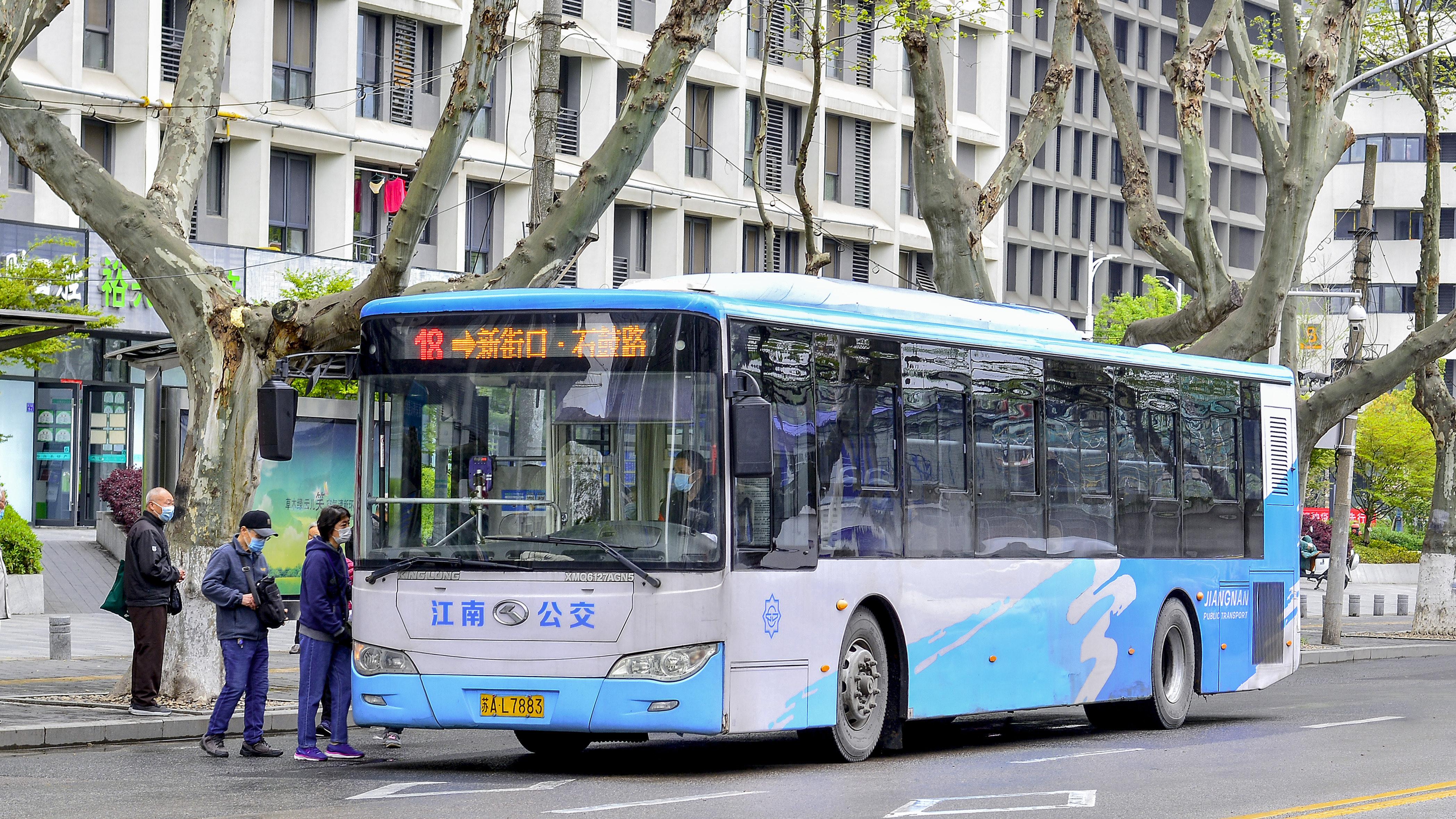 南京18路公交车路线