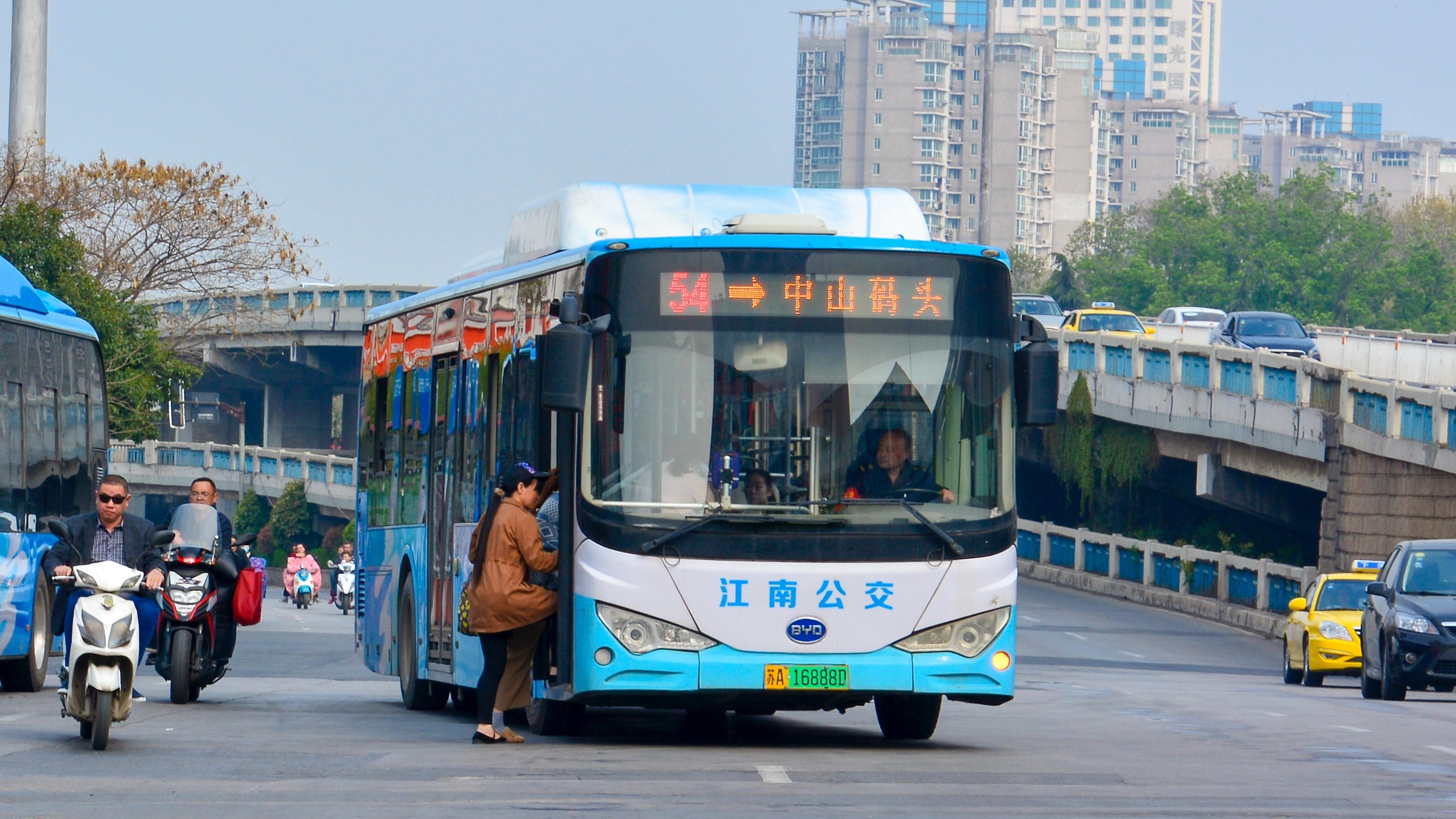 南京54路公交车路线