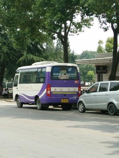 南京961路公交车路线