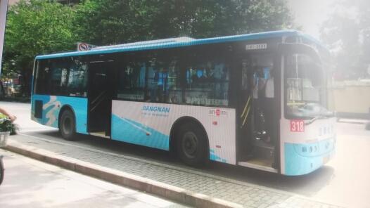 南京318路公交车路线