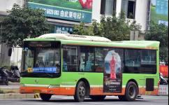 南宁W2路公交车路线