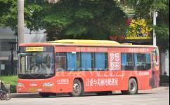 南宁608路公交车路线