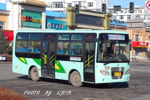 齐齐哈尔109路公交车路线
