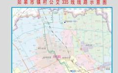 如皋335(柴湾双楼-龙游湖,205支路)公交车路线