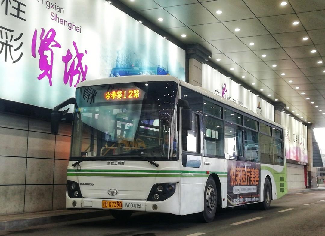 上海奉贤12路公交车路线