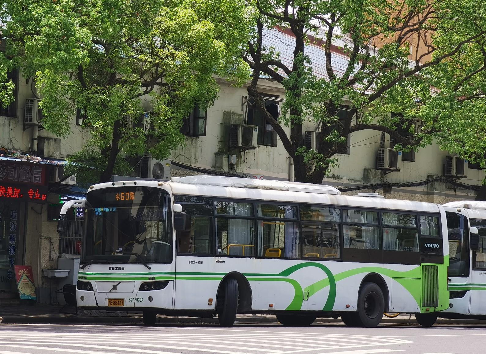 上海60路公交车路线