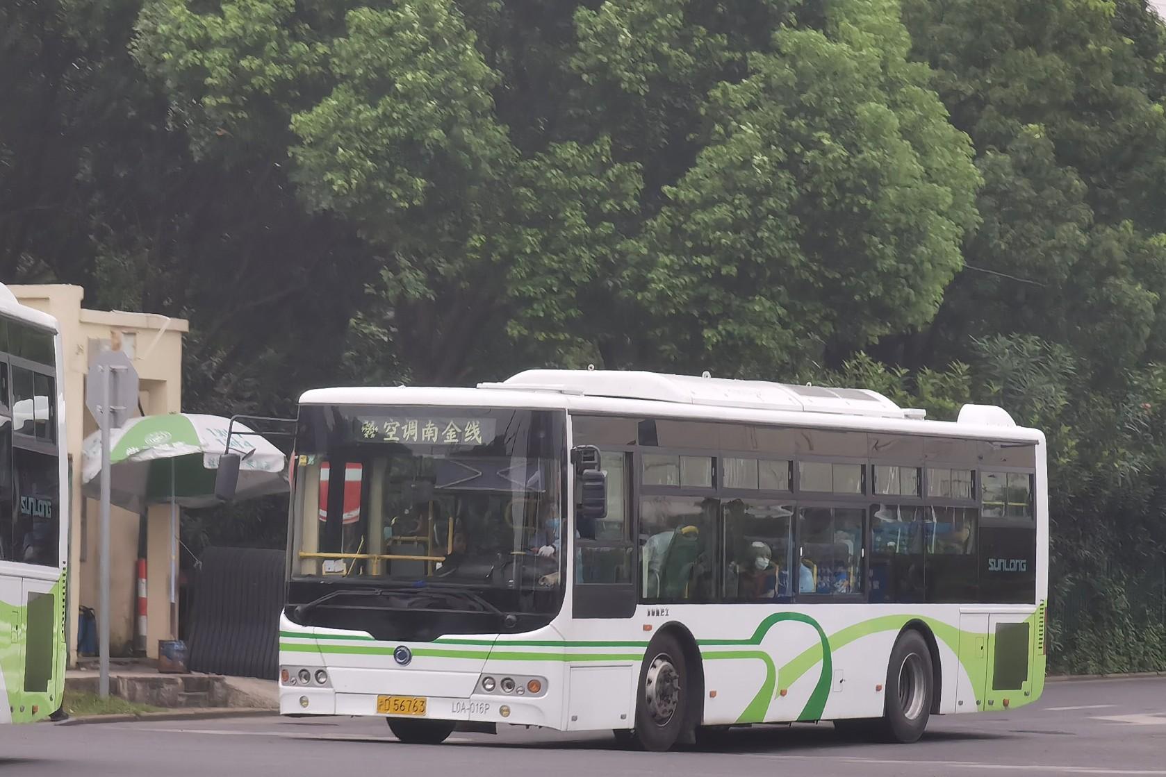 上海南金线公交车路线