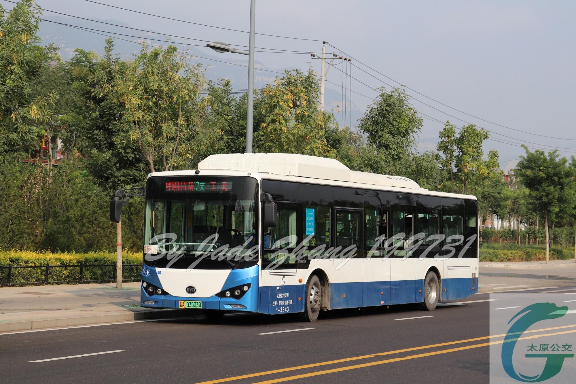 太原12支路公交车路线