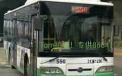 武汉550路公交车路线