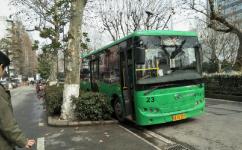 武汉23路公交车路线