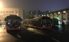 武汉BRT1路公交车路线