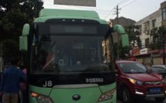武汉J8路公交车路线