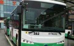 武汉382路公交车路线