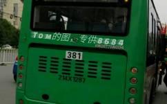 武汉381路公交车路线