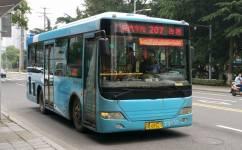 无锡207路公交车路线