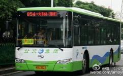 厦门854路公交车路线