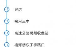 许昌许禹公交专线公交车路线