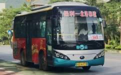 阳江保利—北洛秘境公交车路线