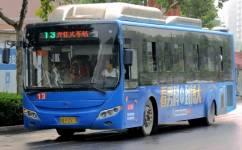 郑州13路公交车路线