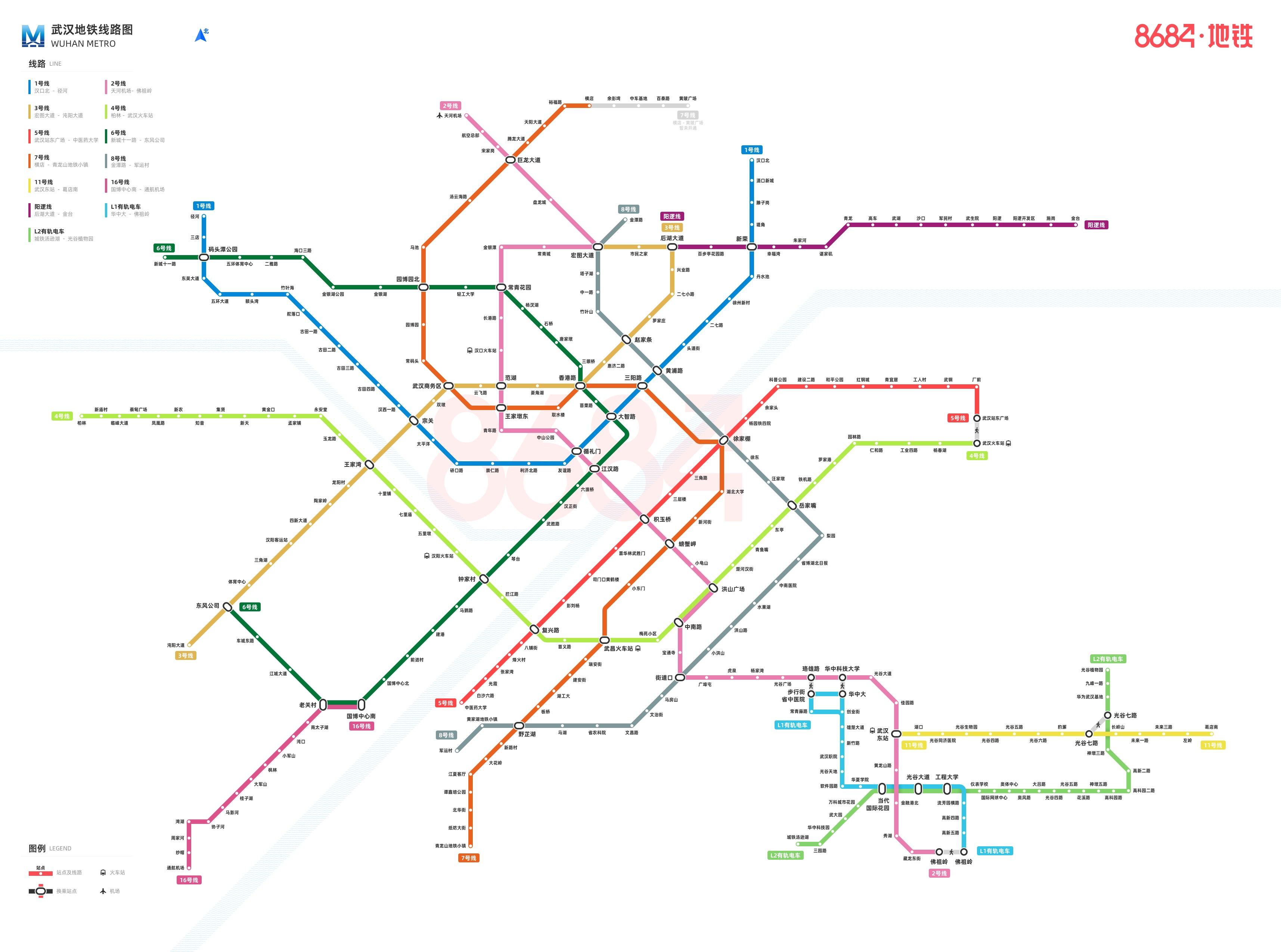 武汉地铁规划图高清_武汉地铁图高清大图图片