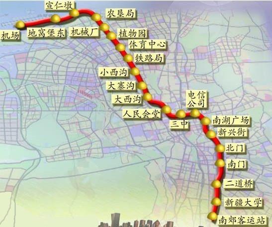 乌鲁木齐市地铁1号线项目用地通过预审